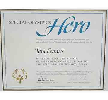 Special Olympics Hero Status